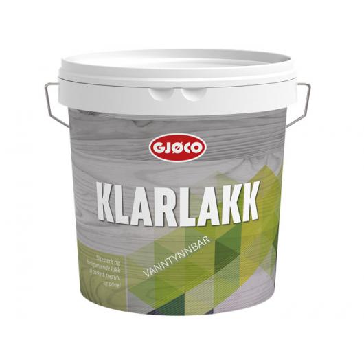 Лак полиуретановый Gjoco Klarlakk 15 полуматовый - интернет-магазин tricolor.com.ua