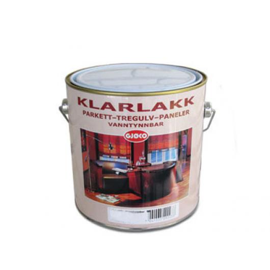 Лак полиуретановый Gjoco Klarlakk 40 полуглянцевый - изображение 2 - интернет-магазин tricolor.com.ua