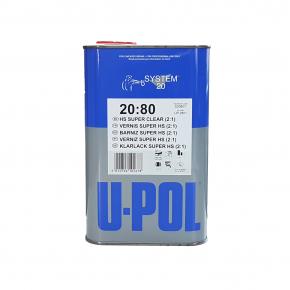 Лак акриловый U-Pol 2:1 2080/SR HS 1л (без отвердителя)