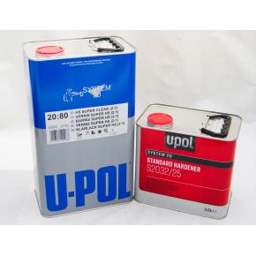 Лак акриловый U-Pol 2:1 2080/SR HS 1л + отвердитель 2032 стандартный 0,5л (комплект)