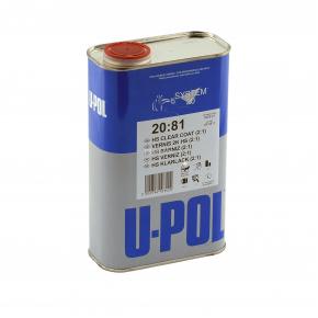 Лак акриловый U-Pol 2:1 2081 HS 5л (без отвердителя)