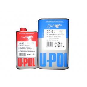Лак акриловый U-Pol 2:1 2091 HS 5л + отвердитель 2032 стандартный 2,5л (комплект)