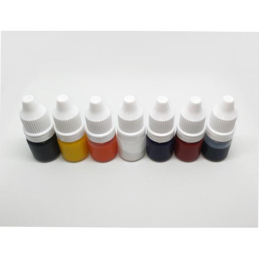 Набор красителей Marbo для смол и полиуретанов 7*5 мл - изображение 2 - интернет-магазин tricolor.com.ua