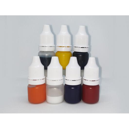 Набор красителей Marbo для смол и полиуретанов 7*5 мл - интернет-магазин tricolor.com.ua