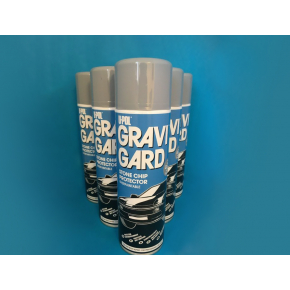 Аэрозольный антигравий U-POL GRAVI-GARD серый