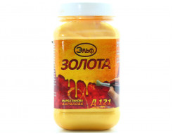 Краска лаковая акриловая Эльф Д-121 Золото - изображение 2 - интернет-магазин tricolor.com.ua