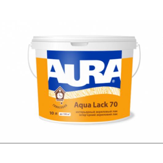 Лак акриловый глянцевый интерьерный Aura Aqua Lack 70 АКЦИЯ!