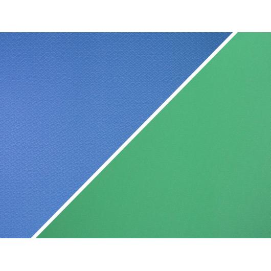 Коврик-каремат Izolon House 110х60 сине-бело-зеленый - интернет-магазин tricolor.com.ua
