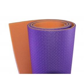 Коврик-каремат Izolon Tourist 8 180х60 фиолетово-оранжевый