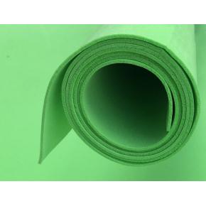 Фоамиран 02 зеленый 1,5х1 м