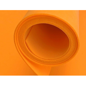 Фоамиран 02 оранжевый 1,5х1 м