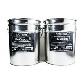 Двухкомпонентная эпоксидная краска ПК-Окрас для бетонных полов RAL7040 * Возможна колеровка