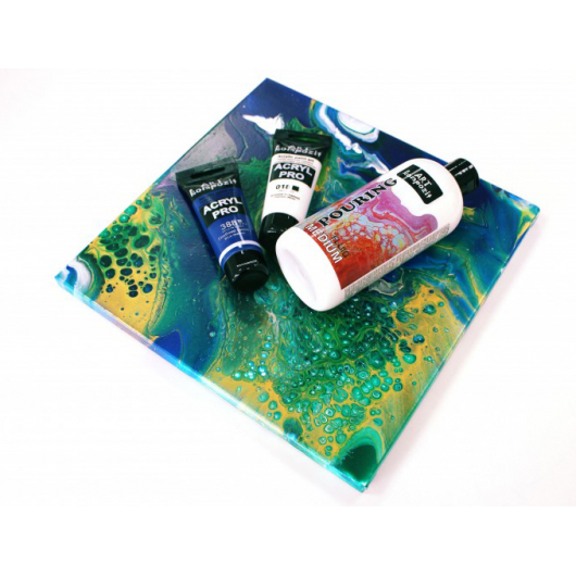 Жидкий акрил Pouring Medium Art Kompozit - изображение 2 - интернет-магазин tricolor.com.ua