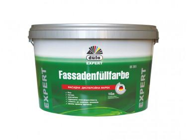 Фасадная дисперсионная краска Fassadenfullfarbe DE 201 Dufa