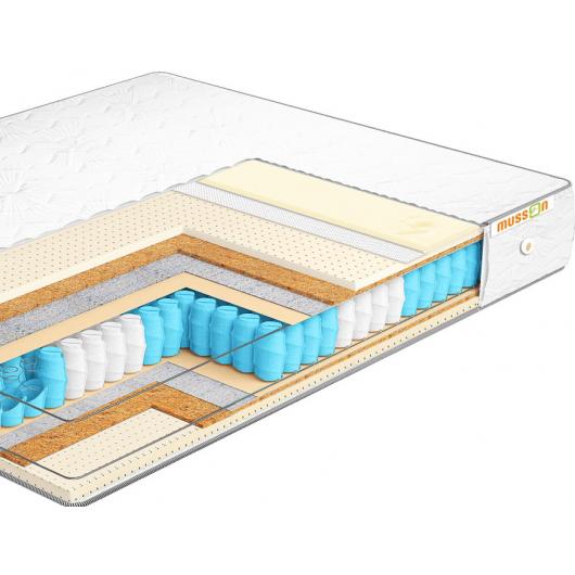 Ортопедический матрас Musson Элит Memory Dual Pocket Spring 140х200 - изображение 3 - интернет-магазин tricolor.com.ua