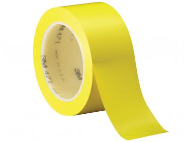 Лента виниловая скотч 3М Scotch 471 0,13 мм 50мм/33м желтая