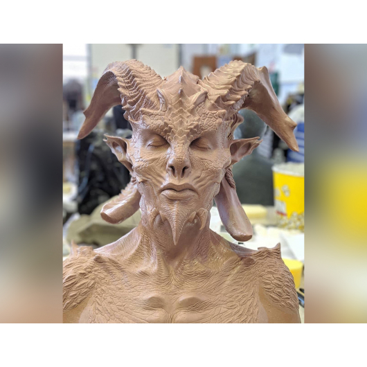 Скульптурная профессиональная масса для лепки Monster Clay Medium - изображение 7 - интернет-магазин tricolor.com.ua