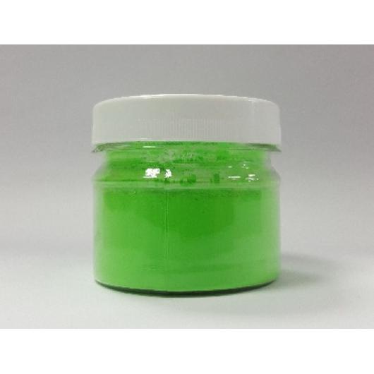 Пигмент флуоресцентный неон зеленый Tricolor FG - интернет-магазин tricolor.com.ua