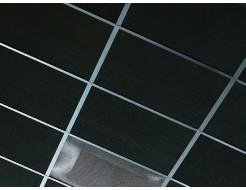 Акустическая влагостойкая гладкая плита Rockfon Industrial Black 600x600x50 - изображение 2 - интернет-магазин tricolor.com.ua