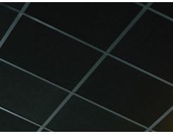 Акустическая влагостойкая гладкая плита Rockfon Industrial Black 600x600x50 - изображение 3 - интернет-магазин tricolor.com.ua