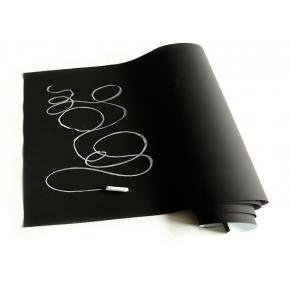 Меловая пленка Le Vanille PRO черная матовая 1,37 м - интернет-магазин tricolor.com.ua