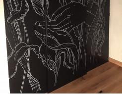 Меловая пленка Le Vanille PRO черная 1,37 м - изображение 3 - интернет-магазин tricolor.com.ua