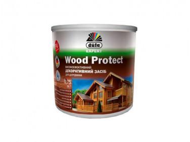 Пропитка декоративная DE Wood Protect Dufa (белая)