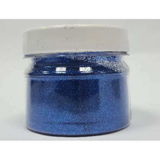 Глиттер GB/0,2 мм (1/128) синий Tricolor - интернет-магазин tricolor.com.ua