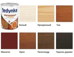 Пропитка-антисептик Jedynka Impregnat с воском Белая - изображение 3 - интернет-магазин tricolor.com.ua