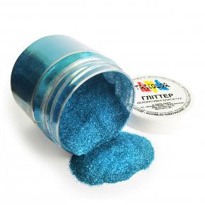 Глиттер GBLUE/0,2 мм (1/128) голубой Tricolor - изображение 3 - интернет-магазин tricolor.com.ua