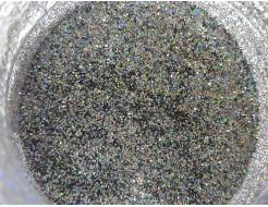 Купить Глиттер голографический GGS/0,4 мм (1/64) серебряный Tricolor - 23