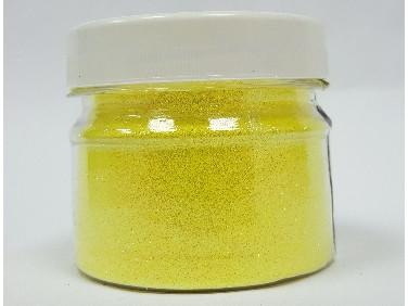 Купить Глиттер флуоресцентный лимонный Tricolor GFL/0,2 мм (1/128)
