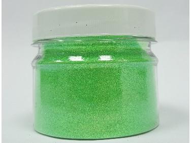 Купить Глиттер флуоресцентный зеленый Tricolor GFG/0,2 мм (1/128)