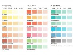Пигментный концентрат MGF Color-tone №5 коралл для внутренних работ - изображение 2 - интернет-магазин tricolor.com.ua