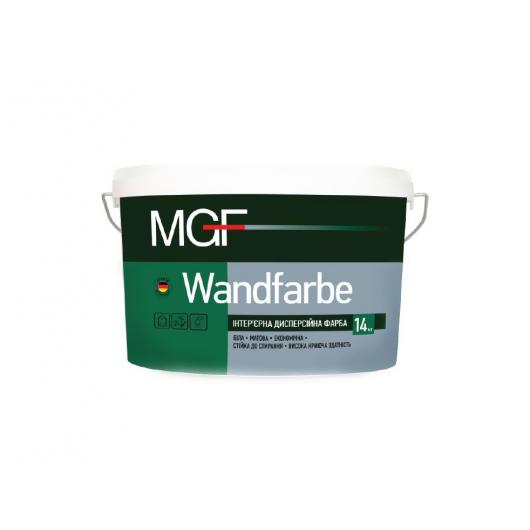 Интерьерная дисперсионная краска MGF Wandfarbe M1a белая матовая