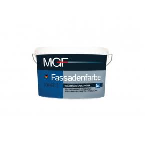 Паропроницаемая фасадная краска MGF Fassadenfarbe M90 белая матовая
