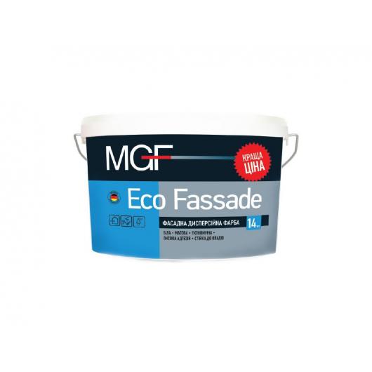 Фасадная дисперсионная краска MGF Eco Fassade M690 белая матовая