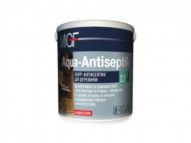 Лазурь-антисептик MGF Aqua-Antiseptik тик