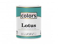 Латексная краска для внутренних работ COLORS Lotus матовая База А - изображение 2 - интернет-магазин tricolor.com.ua