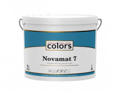 Акрилатная водоразбавляемая краска COLORS Novamat 7 шелковисто матовая База C (под колеровку) - изображение 2 - интернет-магазин tricolor.com.ua