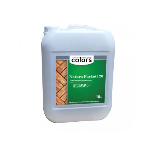 Покрывной лак для внутренних работ Colors Natura Parkett 20 - изображение 2 - интернет-магазин tricolor.com.ua