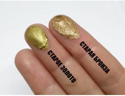 Пигмент металлик пудра старое золото Tricolor - изображение 4 - интернет-магазин tricolor.com.ua