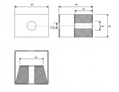 Крепление виброизоляционное A4Sound VibroHolder Pro20 - изображение 2 - интернет-магазин tricolor.com.ua
