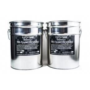 Двухкомпонентный эпоксидный пленкообразующий грунт без растворителей ПК-Грунт ПО (б/р) для бетона, дерева и минеральных поверхностей