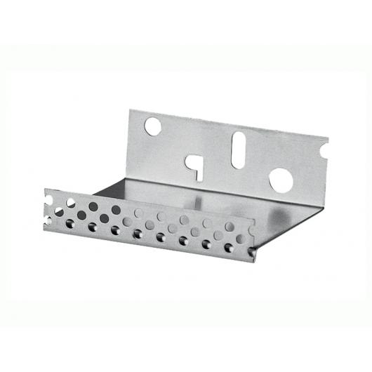Профиль цокольный Baumit Sockel Aluminium алюминиевый с капельником 50мм*2,5м - изображение 2 - интернет-магазин tricolor.com.ua