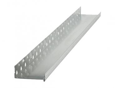 Профиль цокольный Baumit Sockel Aluminium алюминиевый с капельником 80мм*2,5м