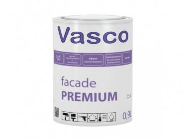 Матовая силоксановая водоразбавляемая фасадная краска Vasco Facade PREMIUM База C