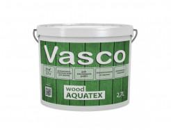Водоразбавляемая, лессирующая пропитка для дерева Vasco Wood AQUATEX прозрачная - изображение 2 - интернет-магазин tricolor.com.ua