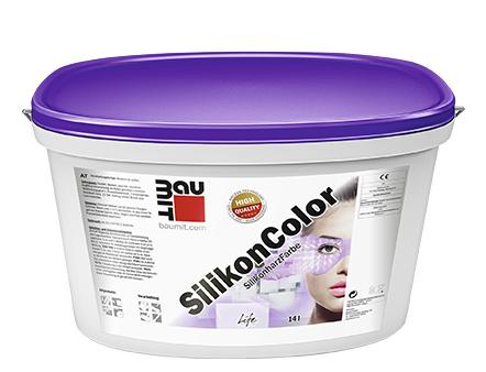 Краска фасадная силиконовая Baumit SilikonColor