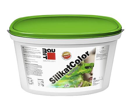 Краска фасадная силикатная Baumit SilikatColor паропроницаемая